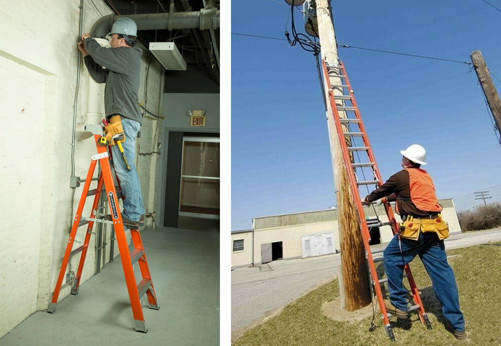 Best Fiberglass Ladder for professional or residential use