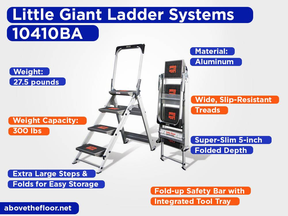 Little Giant Ladder Systems 10410BA Review, Pros and Cons