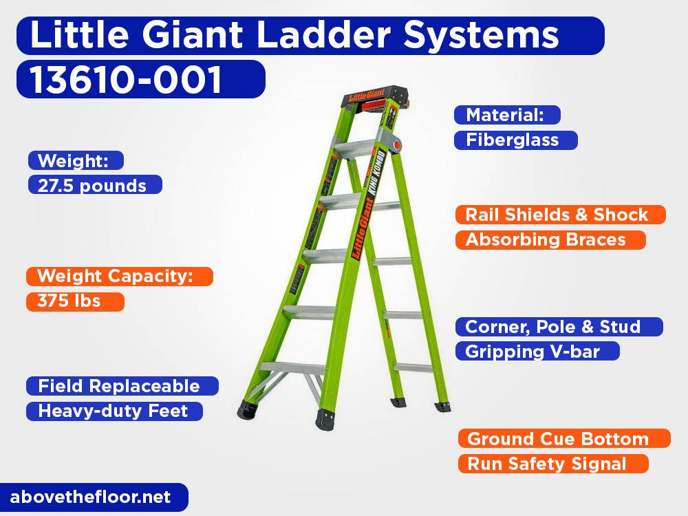 Little Giant Ladder Systems 13610-001 Review, Pros and Cons
