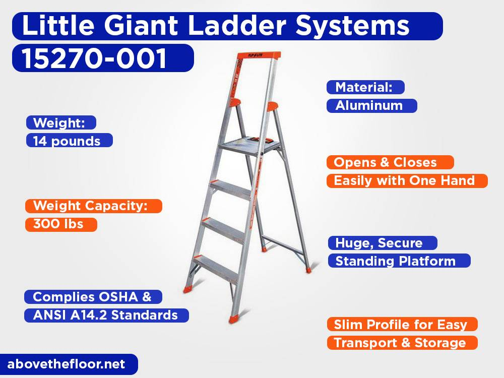 Little Giant Ladder Systems 15270-001 Review, Pros and Cons