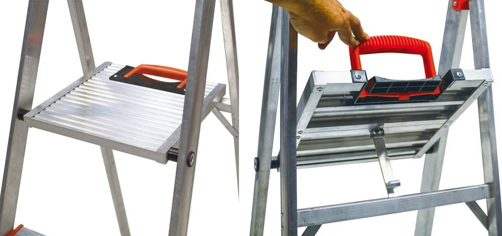 Little Giant Ladder Systems15270-001 comes with a standing platform