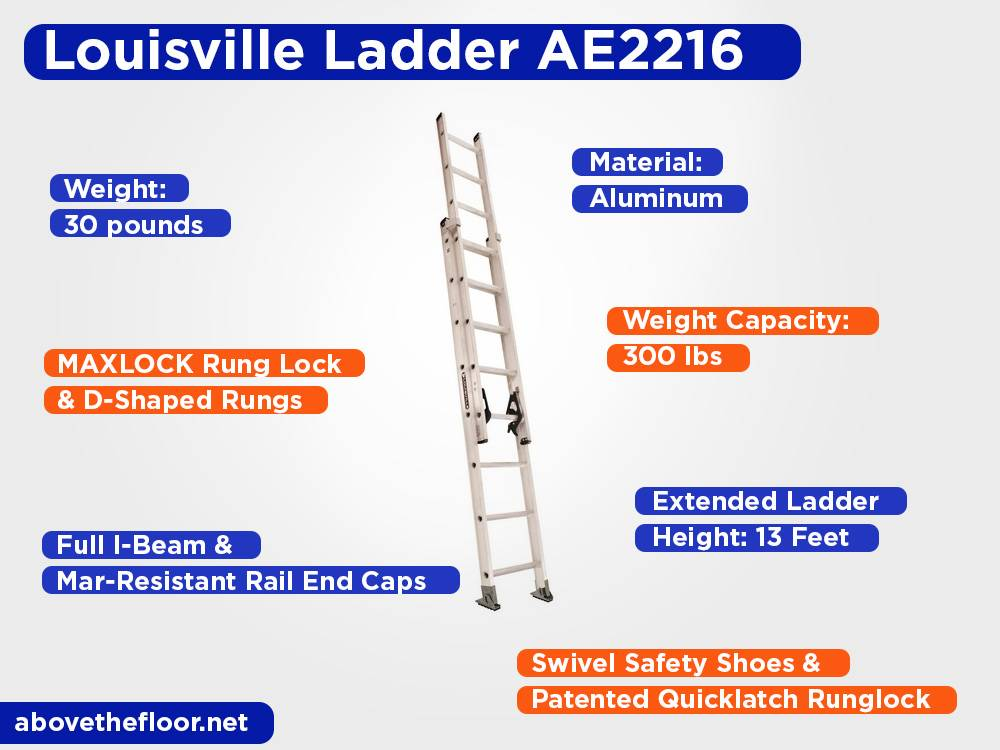 Louisville Ladder AE2216 Review, Pros and Cons
