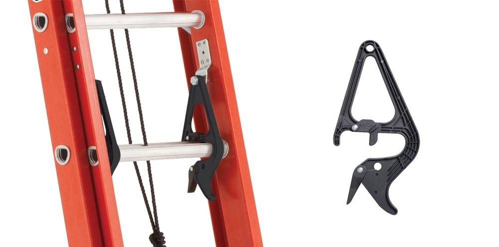 Louisville Ladder FE3224 comes with a patented quick-latch rung lock