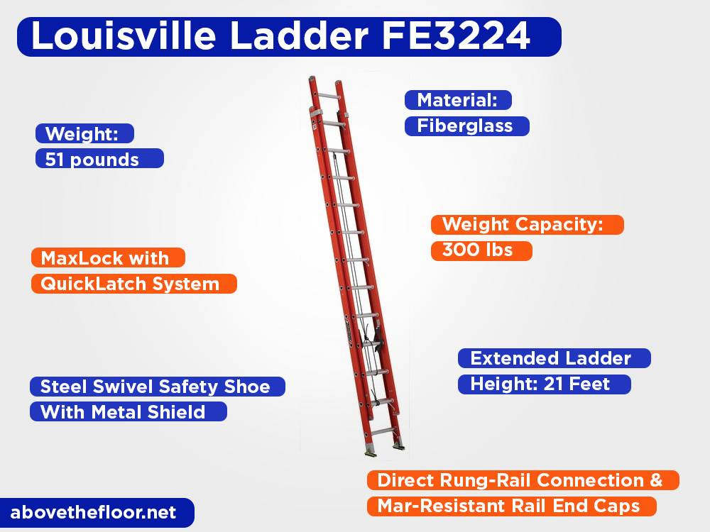 Louisville Ladder FE3224 Review, Pros and Cons