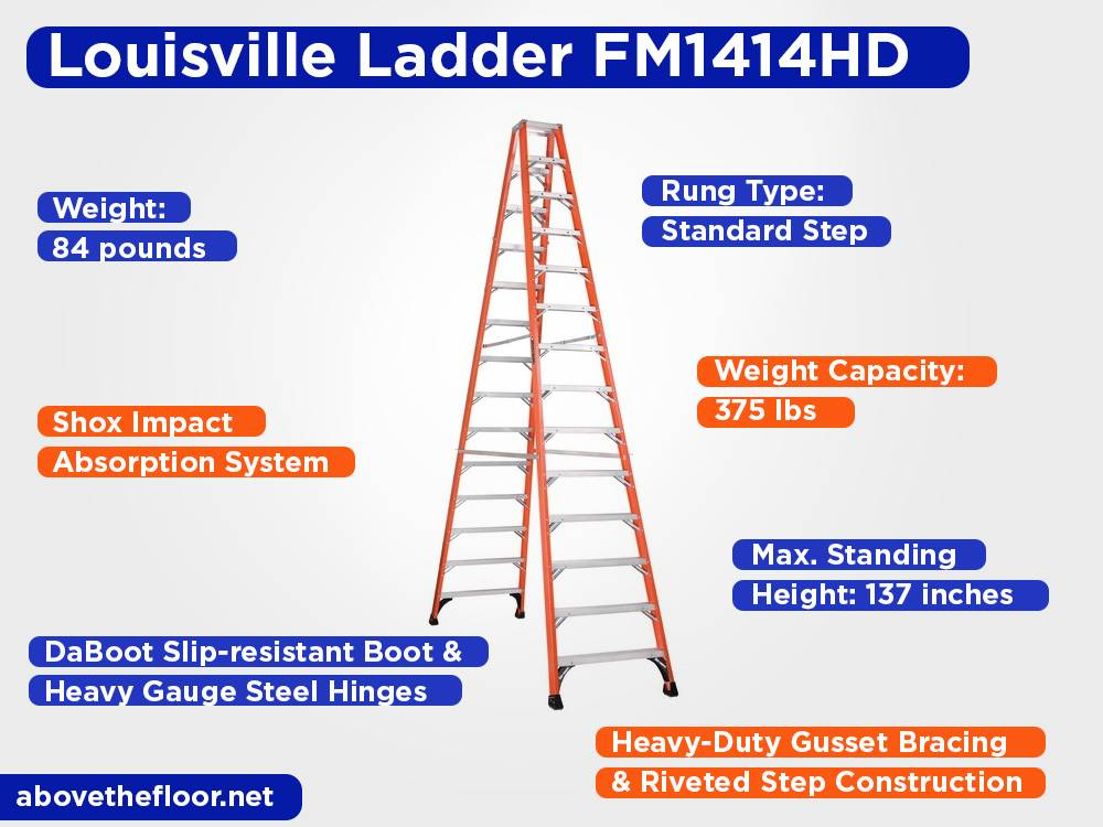 Louisville Ladder FM1414HD Review, Pros and Cons