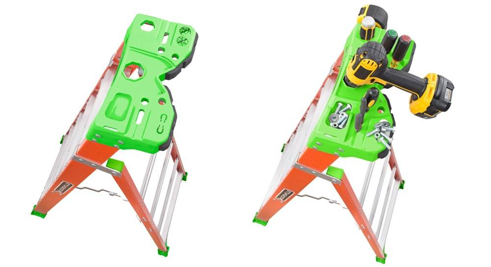 Louisville Ladder FXS1508 comes with a V-shape Pro Top