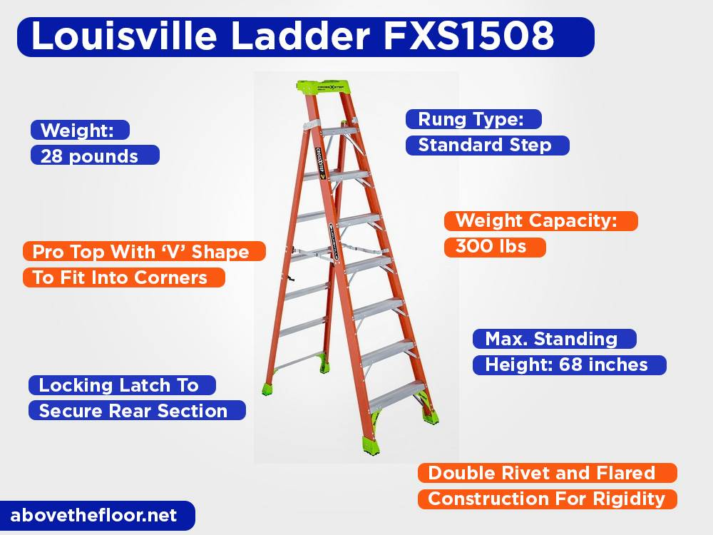 Louisville Ladder FXS1508 Review, Pros and Cons