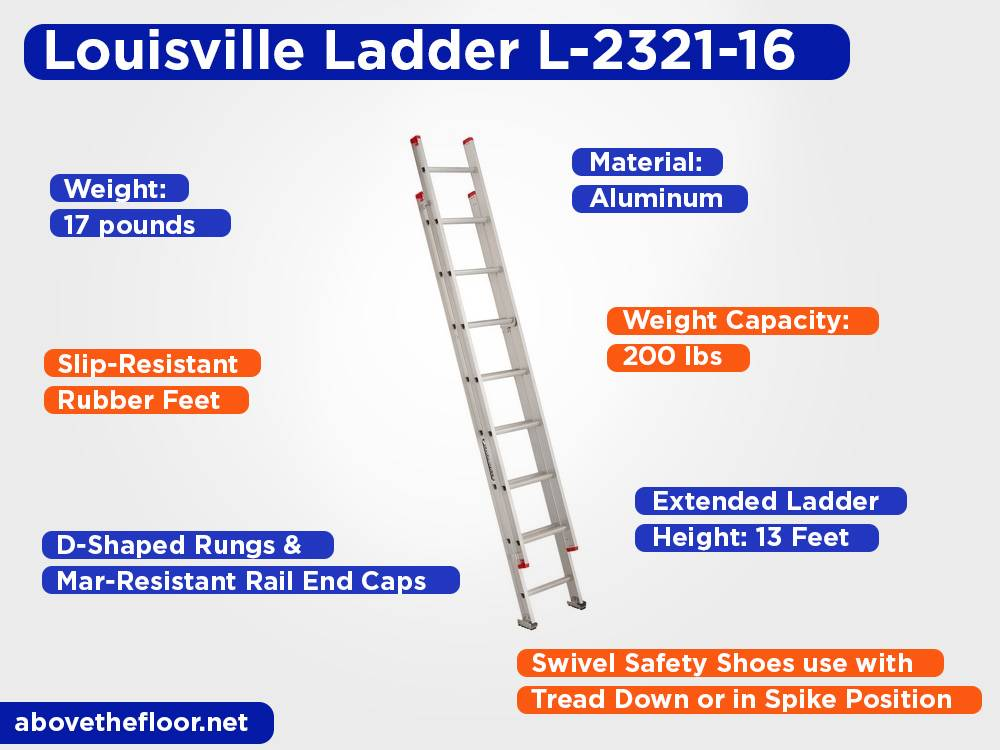 Louisville Ladder L-2321-16 Review, Pros and Cons