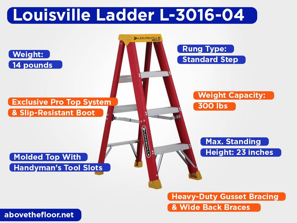 Louisville Ladder L-3016-04 Review, Pros and Cons