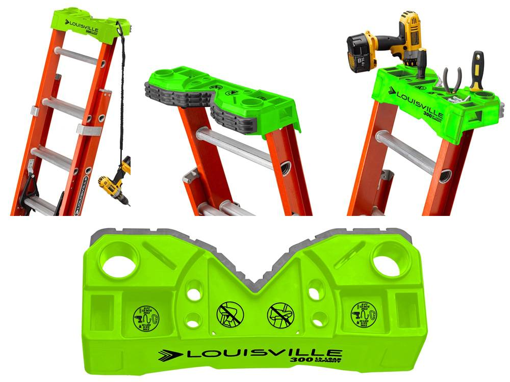 Louisville Ladder L-3022-28PT comes with a V-shape design and a ProTop With Multiple Tool Slots And Magnet