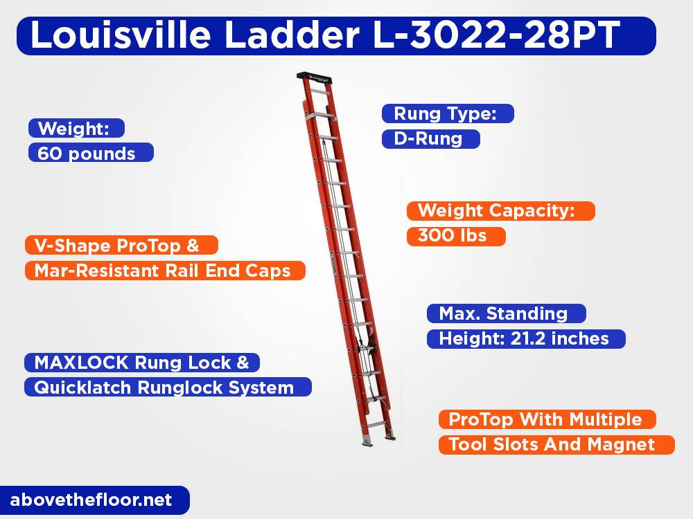 Louisville Ladder L-3022-28PT Review, Pros and Cons