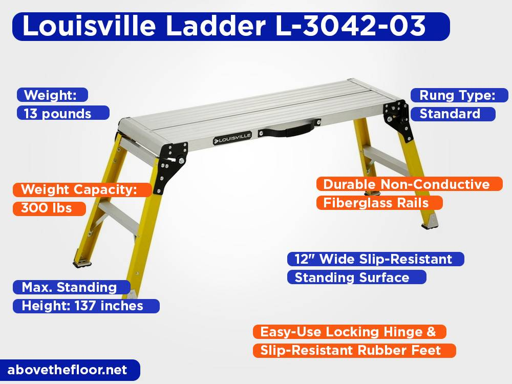 Louisville Ladder L-3042-03 Review, Pros and Cons