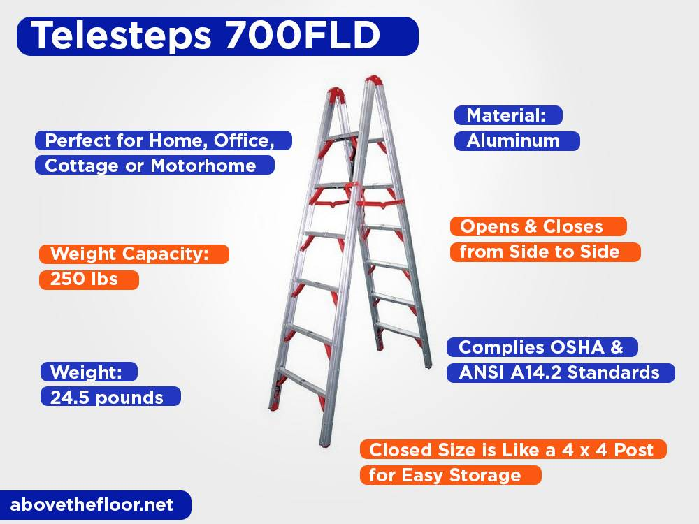 Telesteps 700FLD Review, Pros and Cons
