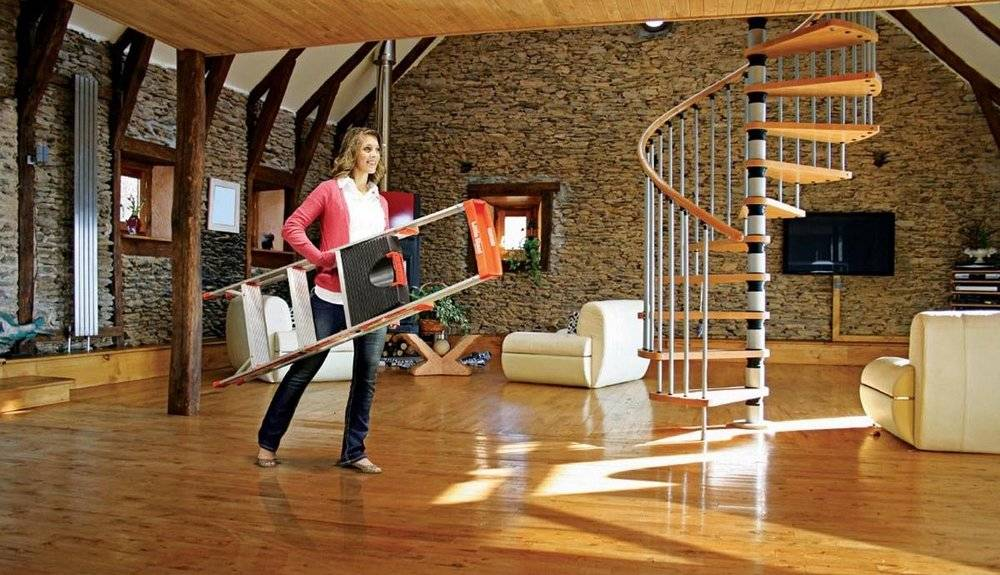 The best weight of the folding ladder for you