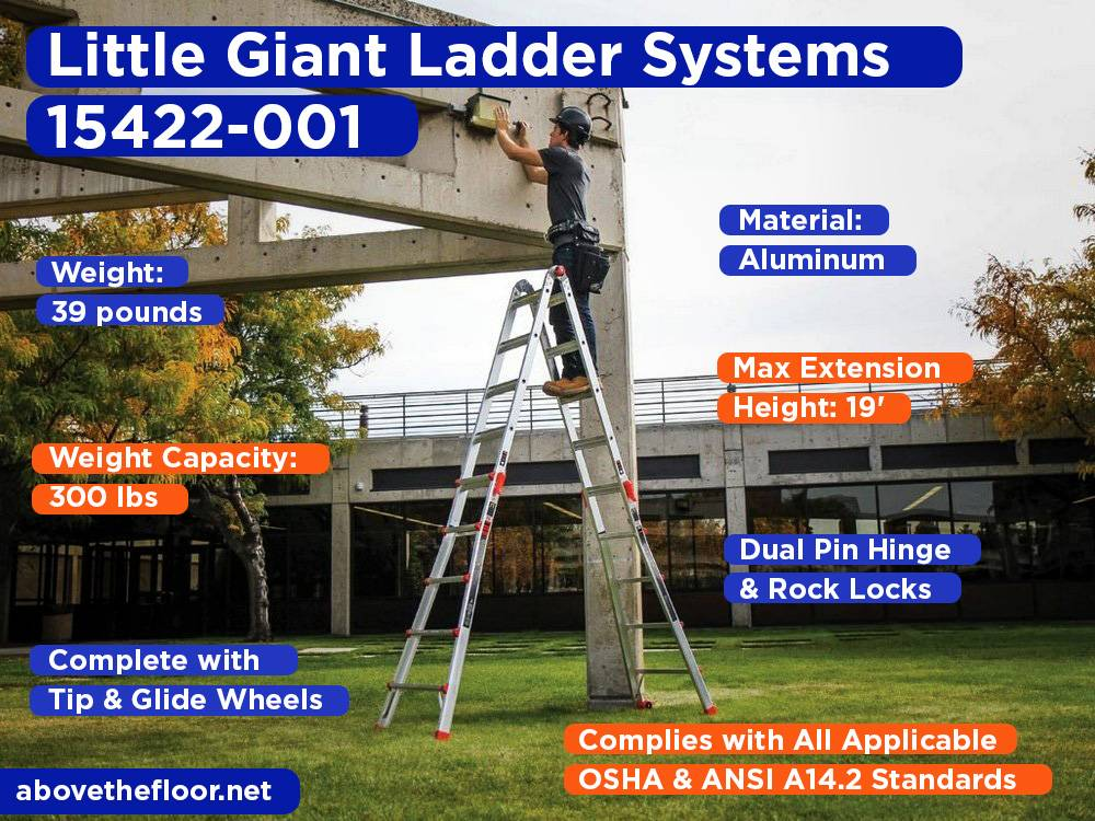 Little Giant Ladder Systems 15422-001 Review, Pros and Cons