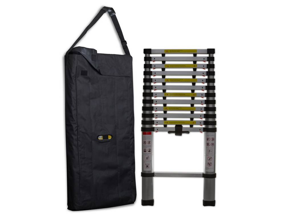 OxGord LDAL-TS02-12-NEW laddercomes with a heavy-duty carrying strap