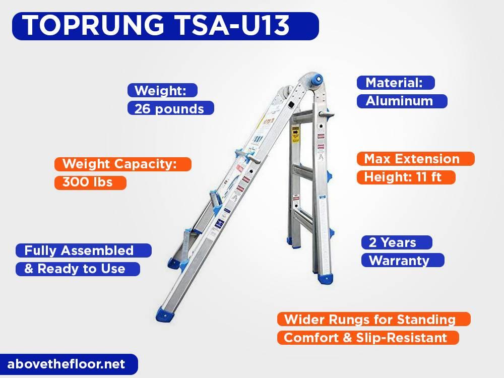 TOPRUNG TSA-U13 Review, Pros and Cons