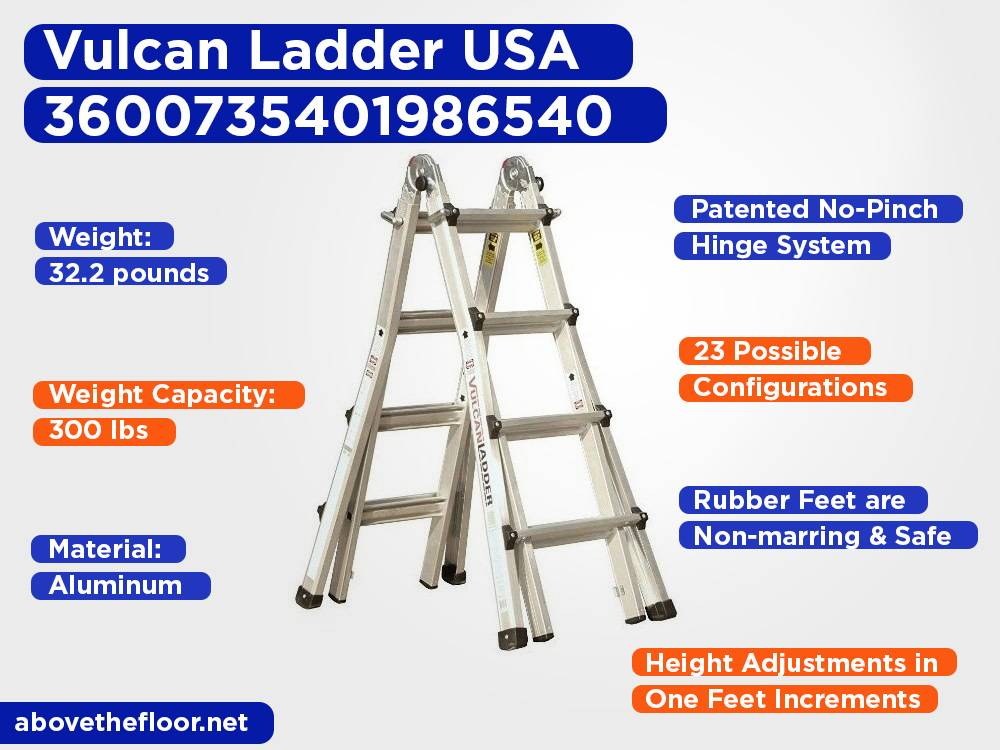 Vulcan Ladder USA 3600735401986540 Review, Pros and Cons