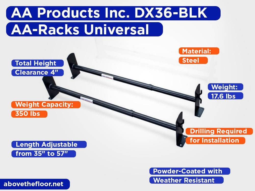 AA Products Inc. DX36-BLK AA-Racks Universal Review, Pros and Cons