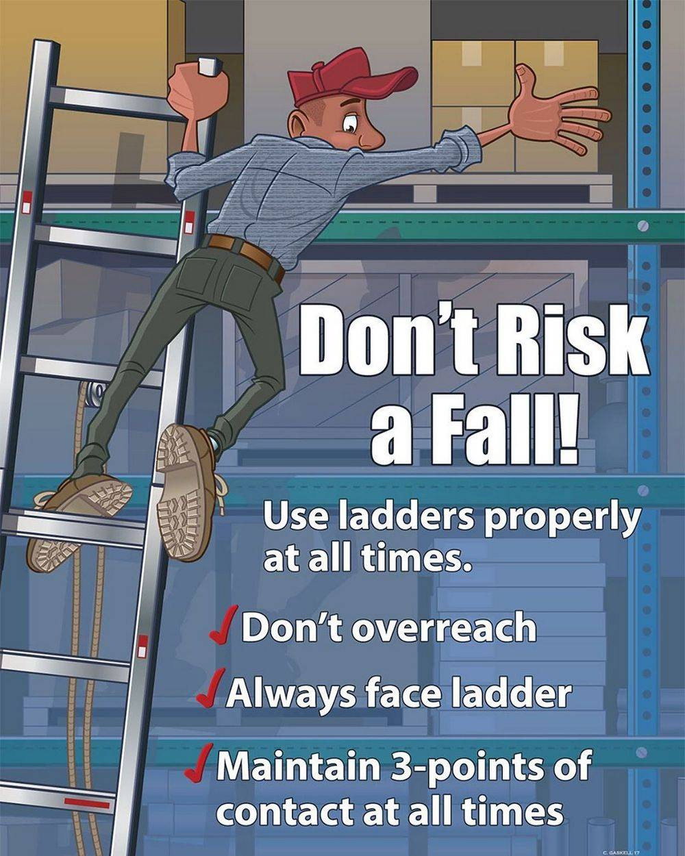 Basic Ladder Safety Rules