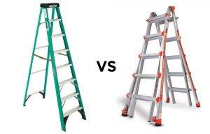 Fiberglass vs Aluminum Ladders