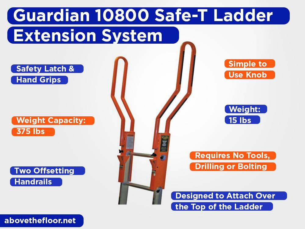 Guardian 10800 Safe-T Ladder Extension System Review, Pros and Cons