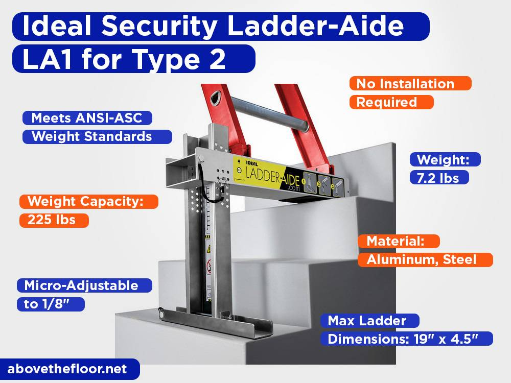 Ideal Security Ladder-Aide LA1 for Type 2 Review, Pros and Cons
