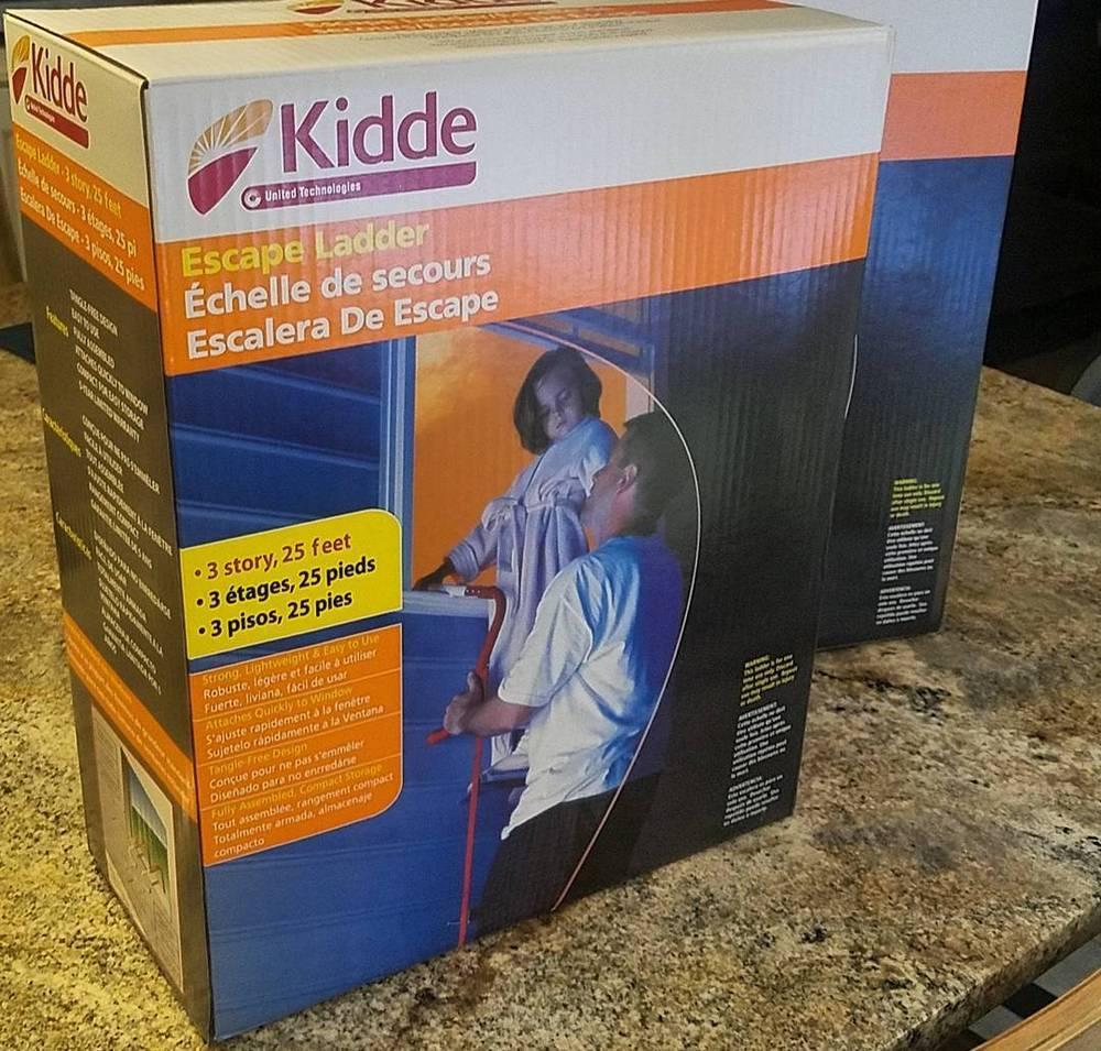 Kidde 468094 Three-Story 25 ft