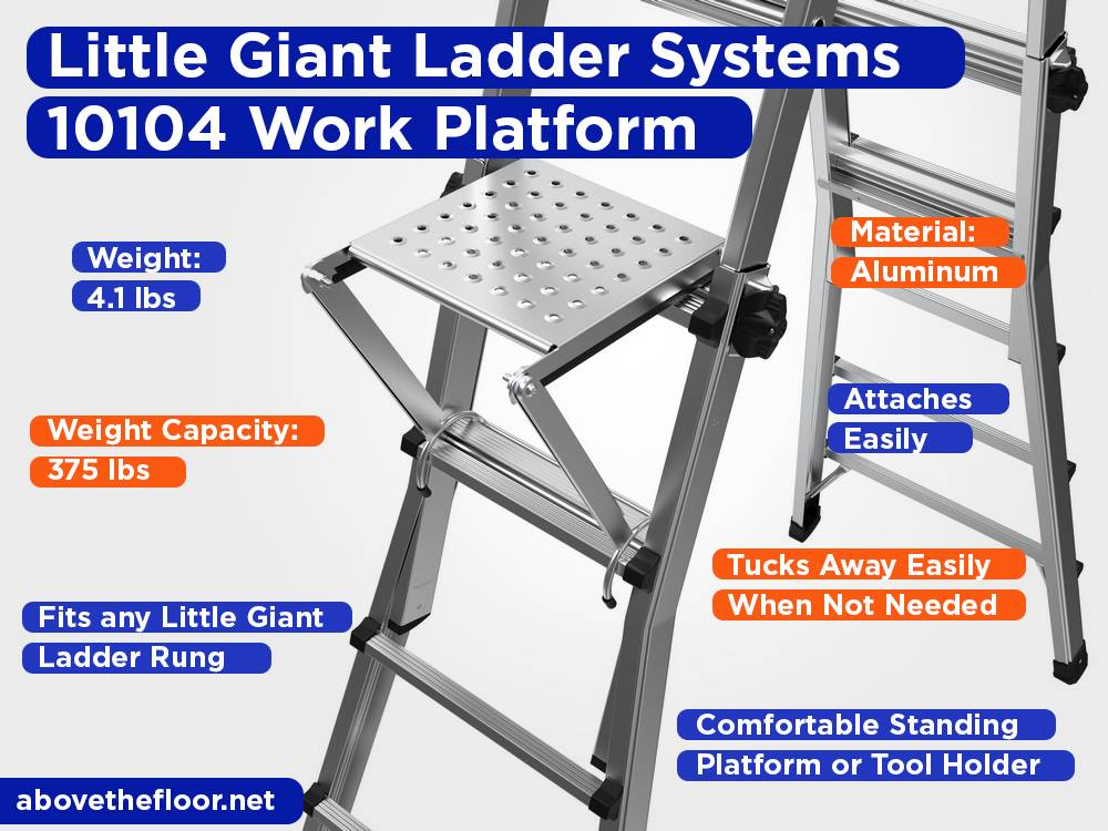 Little Giant Ladder Systems 10104 Work Platform Review, Pros and Cons