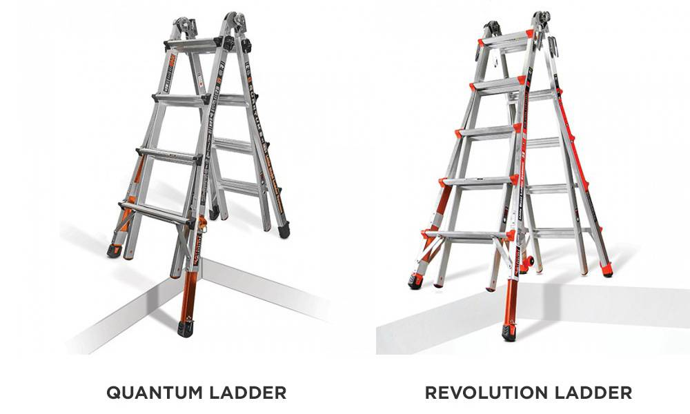 Little Giant Quantum vs Revolution