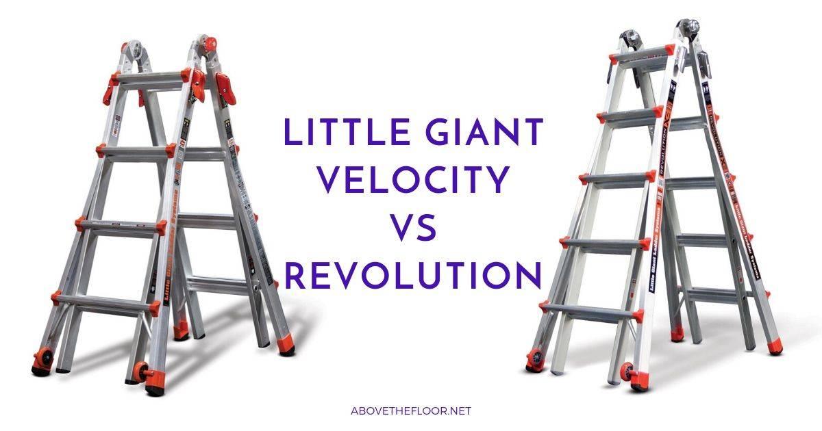 Little Giant Velocity vs Revolution