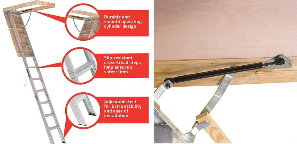 Louisville Ladder AA2210 Elite has slip resistance steps & adjustable shoes