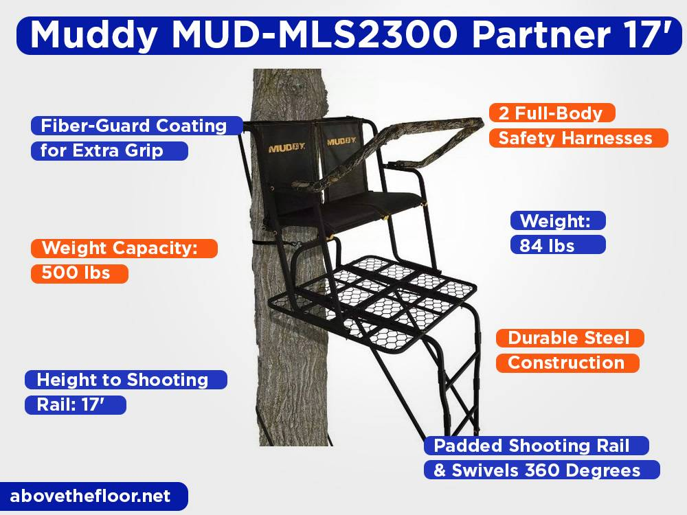 Muddy MUD-MLS2300 Partner 17' Review, Pros and Cons