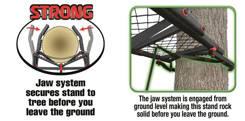 Primal Tree StandsPVLS-52118' has the Jaw System