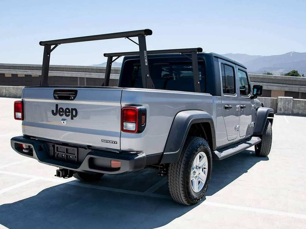Truck racks are made of steel or aluminum