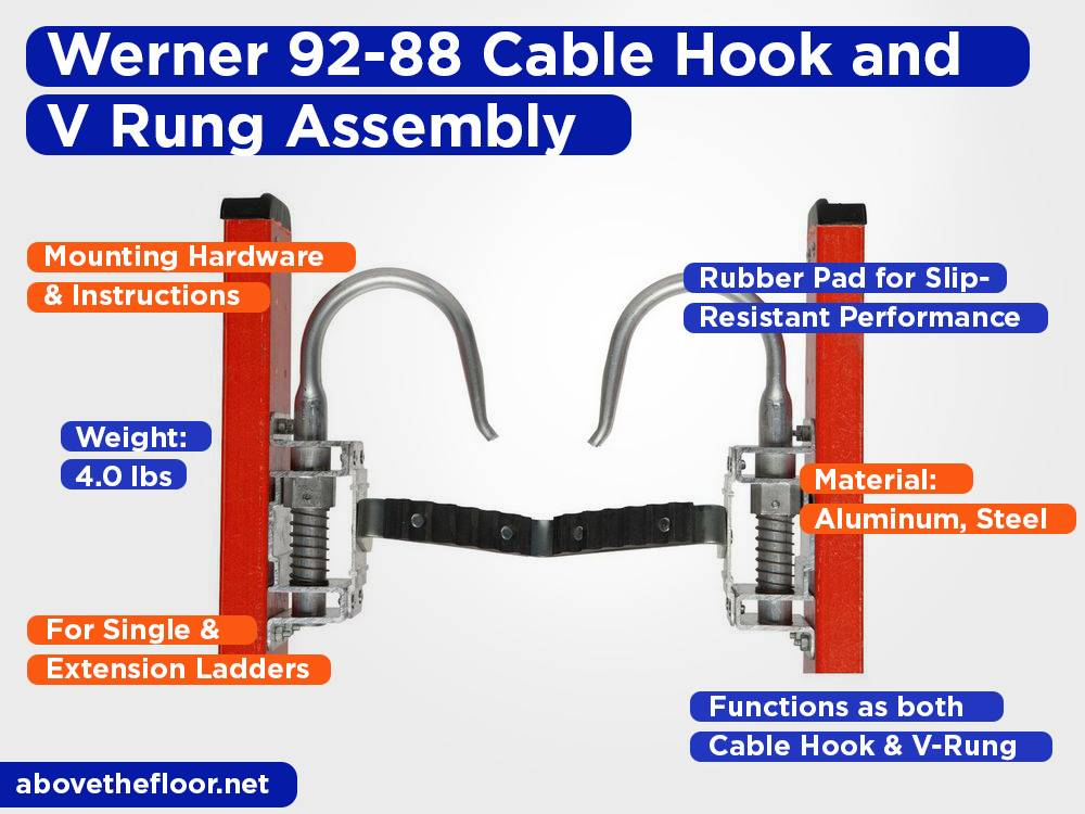 Werner 92-88 Cable Hook and V Rung Assembly Review, Pros and Cons