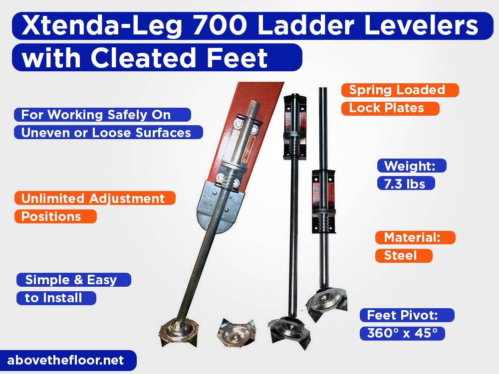 Xtenda-Leg 700 Ladder Levelers with Cleated Feet Review, Pros and Cons