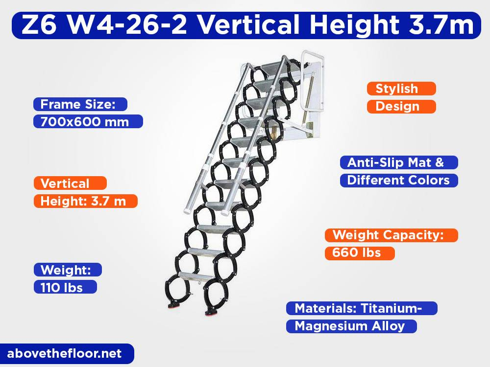 Z6 W4-26-2Vertical Height3.7m Review, Pros and Cons