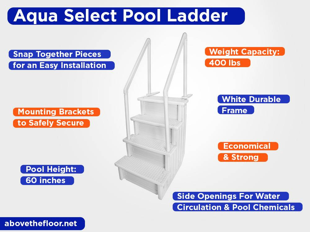 Aqua Select Pool Ladder Review, Pros and Cons