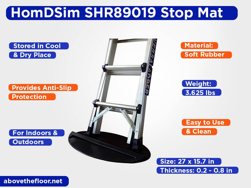HomDSim SHR89019 Ladder Stop Mat Review, Pros and Cons