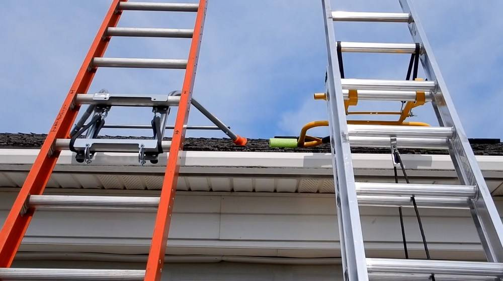 Ladder stabilizers are designed differently