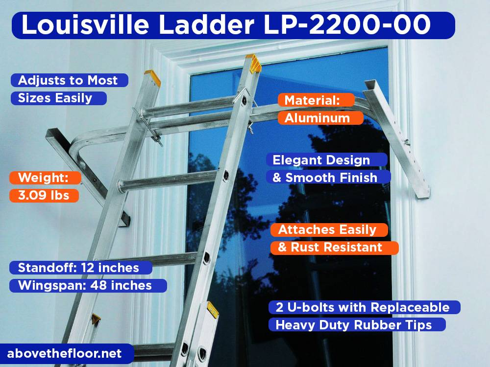 Louisville Ladder LP-2200-00 Review, Pros and Cons