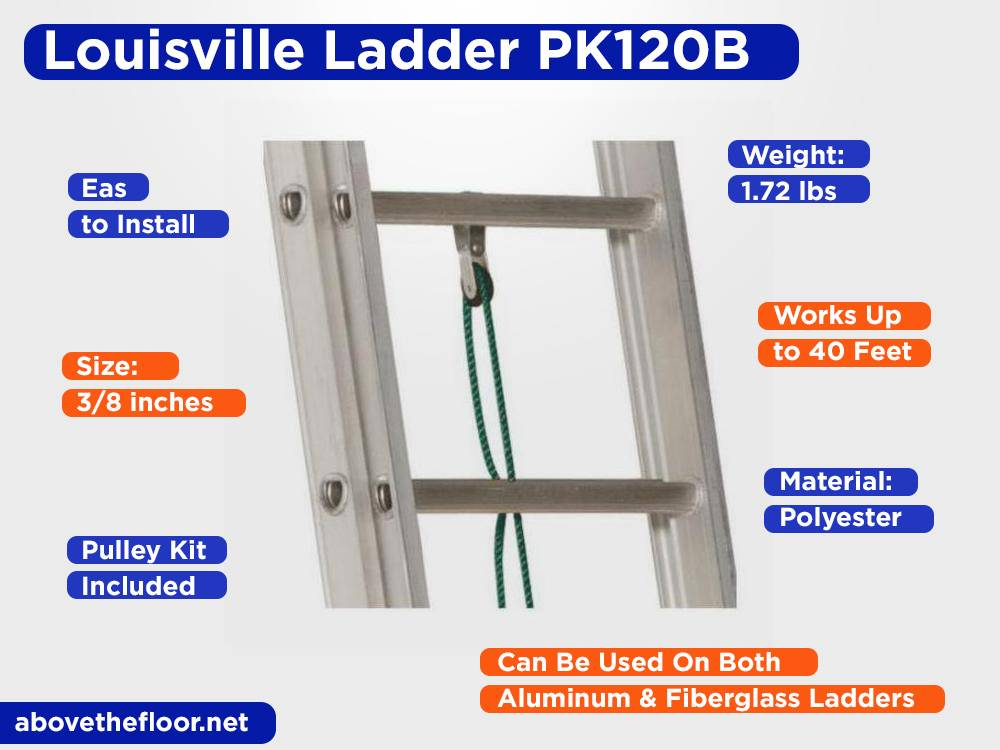 Louisville Ladder PK120B Review, Pros and Cons