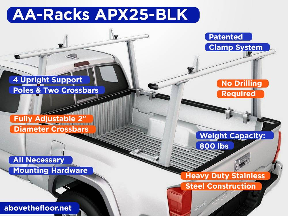 AA-Racks APX25-BLK Review, Pros and Cons