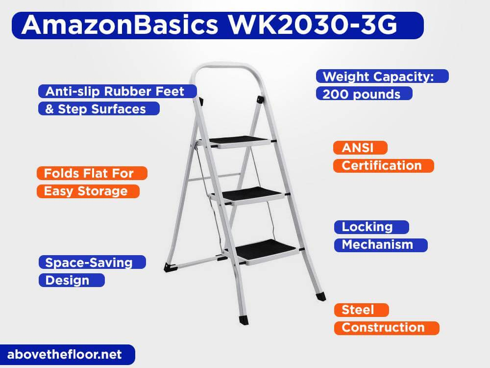 AmazonBasics WK2030-3G Review, Pros and Cons