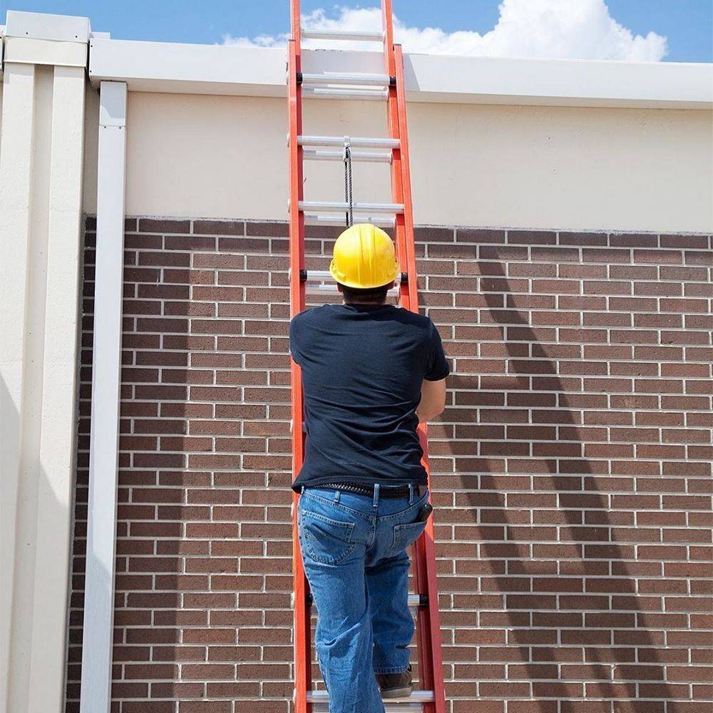 Factors for using an extension ladder