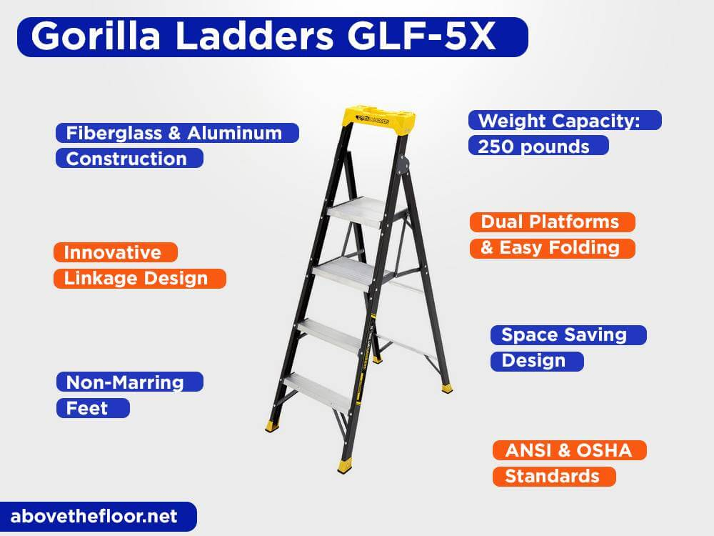 Gorilla LaddersGLF-5X Review, Pros and Cons