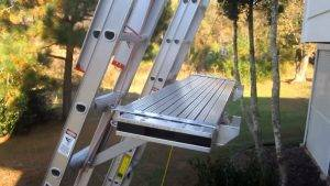 How to set up and use Ladder Jack Scaffolding