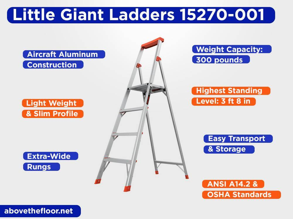 Little Giant Ladders 15270-001 Review, Pros and Cons