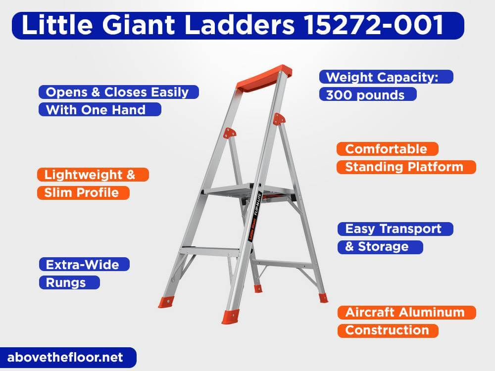 Little Giant Ladders 15272-001 Review, Pros and Cons